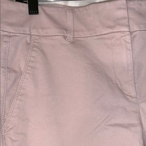 Rose colored chinos, Ann Taylor